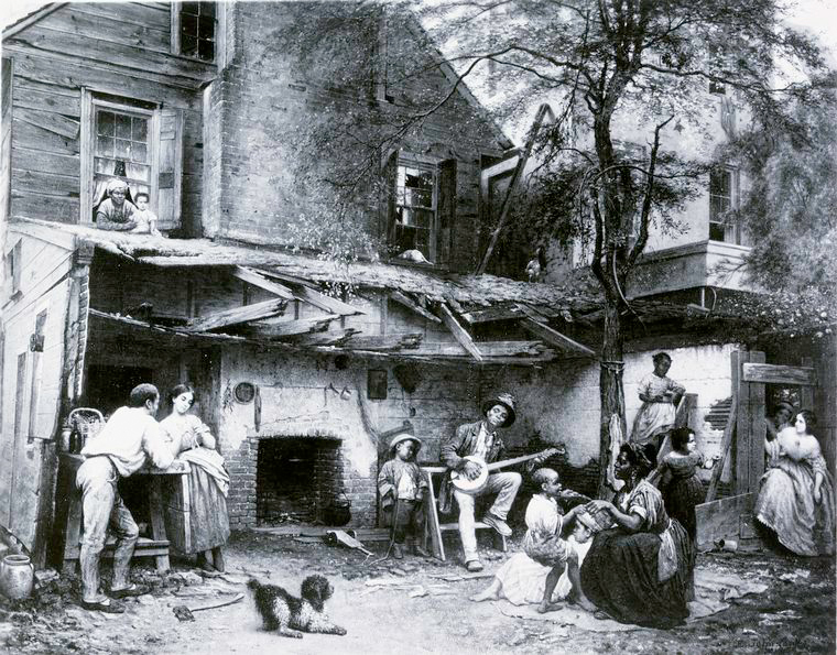 """Old Kentucky Home - Life in the South,"" 1859."