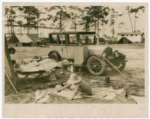 An Auto Camping Scene, Miami, ... Digital ID: 101826. New York Public Library