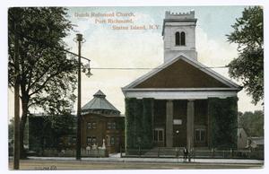 Dutch Reformed Church, Port Ri... Digital ID: 104639. New York Public Library