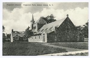 Huguenot Church Huguenot Park,... Digital ID: 104654. New York Public Library
