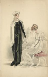 [Evening dress.] Digital ID: 1111636. New York Public Library
