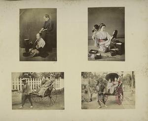 Japanese Men and Women : Haird... Digital ID: 114306. New York Public Library