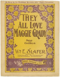 They all love Maggie Grady / w... Digital ID: 1166094. New York Public Library