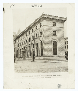 The Old Slip police station, N... Digital ID: 120399. New York Public Library