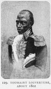 Toussaint Louverture, about 1802 Digital ID: 1228924. New York Public Library