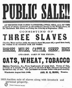 [Notice of slave sale, Public ... Digital ID: 1232772. New York Public Library