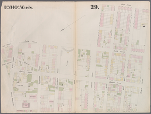 [Plate 29: Map bounded by Jora... Digital ID: 1268445. New York Public Library
