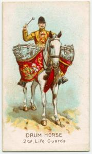 Drum horse, 2nd, Life Guards. Digital ID: 1524137. New York Public Library