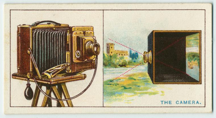 The camera. Digital ID: 1555293. New York Public Library