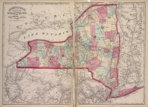 Railroads of the state. Digital ID: 1575774. New York Public Library