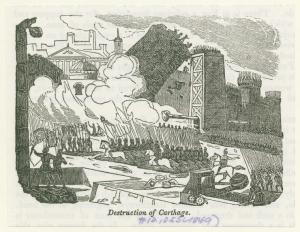 Destruction of Carthage. Digital ID: 1619660. New York Public Library
