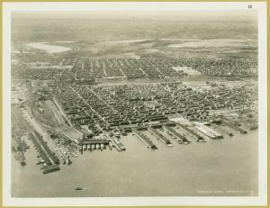 Aerial view of Hoboken Digital ID: 1630052. New York Public Library