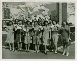 Opening Day - 1940 Season - Gr... Digital ID: 1679993. New York Public Library