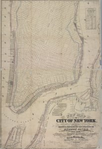New map of that part of the ci... Digital ID: 1696576. New York Public Library
