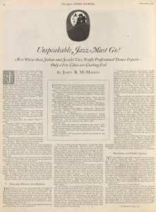 Unspeakable Jazz Must Go! Digital ID: 1819506. New York Public Library