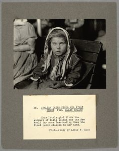 Italian child finds her first ... Digital ID: 212147. New York Public Library