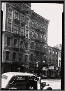 [Tenements & storefronts; Scan... Digital ID: 3984812. New York Public Library