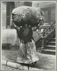 A tenement gleaner, New York C... Digital ID: 416509. New York Public Library