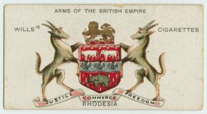Rhodesia cigarette card (image courtesy of NYPL)