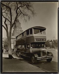 Fifth Avenue Bus, Washington S... Digital ID: 482857. New York Public Library