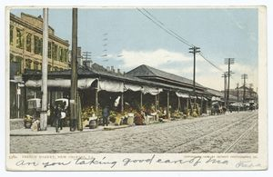 French Market, New Orleans, La... Digital ID:                                     62105. New York Public Library