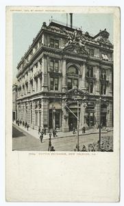 Cotton Exchange, New Orleans, ... Digital ID:                                     66871. New York Public Library