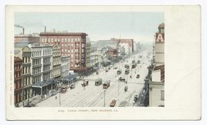 Canal Street, New Orleans, La. Digital ID: 66872.                                     New York Public Library