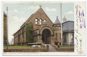 Confederate Memorial Hall, New... Digital ID:                                     67739. New York Public Library