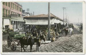 French Market, New Orleans, La... Digital ID:                                     68725. New York Public Library