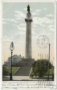 Lee Monument, New Orleans, La. Digital ID: 68726.                            New York Public Library