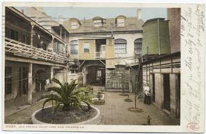 Old French Court Yard, Royal S... Digital ID:                                     68731. New York Public Library
