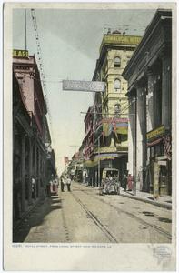 Royal Street from Canal Street... Digital ID:                                     68737. New York Public Library