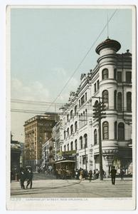 Carondelet Street, New Orleans... Digital ID:                                     69457. New York Public Library