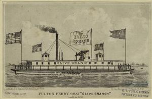 Fulton ferry boat Olive branch... Digital ID: 801616. New York Public Library