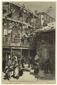 Tenement life in New York - Ra... Digital ID: 809685. New York Public Library