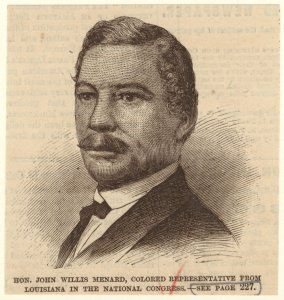 Hon. John Willis Menard, color... Digital ID: 812648. New York Public Library