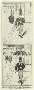 The newest thing in umbrellas. Digital ID: 824646. New York Public Library