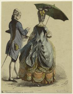 [Woman holding a parasol walki... Digital ID: 824666. New York Public Library