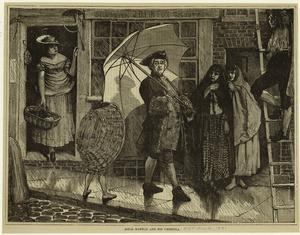 Jonas Hanway and his umbrella. Digital ID: 824683. New York Public Library