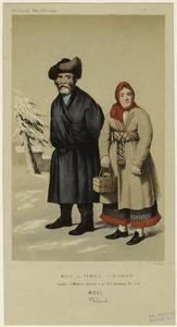 Male & female finlander. Digital ID: 826934. New York Public Library