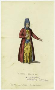 Kirghiz woman. Digital ID: 827669. New York Public Library