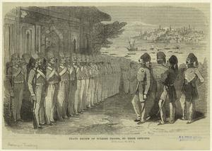 Grand review of Turkish troops... Digital ID: 831289. New York Public Library