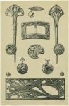 Эскизы ювелирных изделий в стиле Модерн