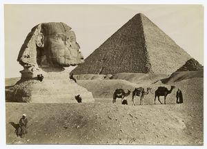 Sphynx et la grande pyramide. Digital ID: 88428. New York Public Library