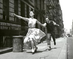 Carol Lawrence and Larry Kert ... Digital ID: psnypl_the_4909. New York Public Library