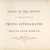 Villas on the Hudson, title page