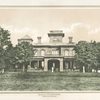 Residence of E. A. Stevens. Castle Point -- Hoboken.