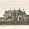 Residence of William Moller. Irvington N.Y.