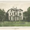 Residence of Thomas Cochran. Dobbs Ferry.
