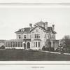 Residence of Theodore McNamee. Irvington, N.Y.